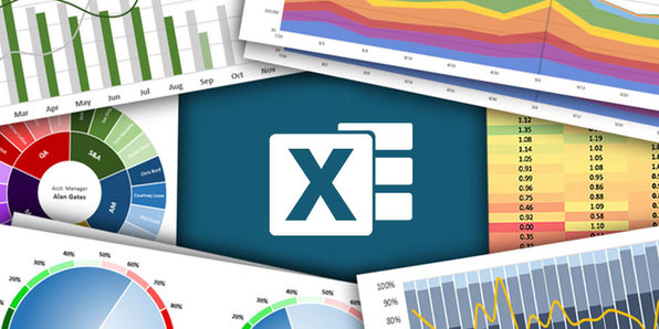 Microsoft Excel: Data Visualization, Excel Charts & Graphs - Product Image