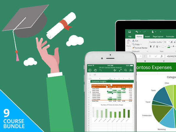 eLearnExcel: The Microsoft Excel Master Certification Bundle