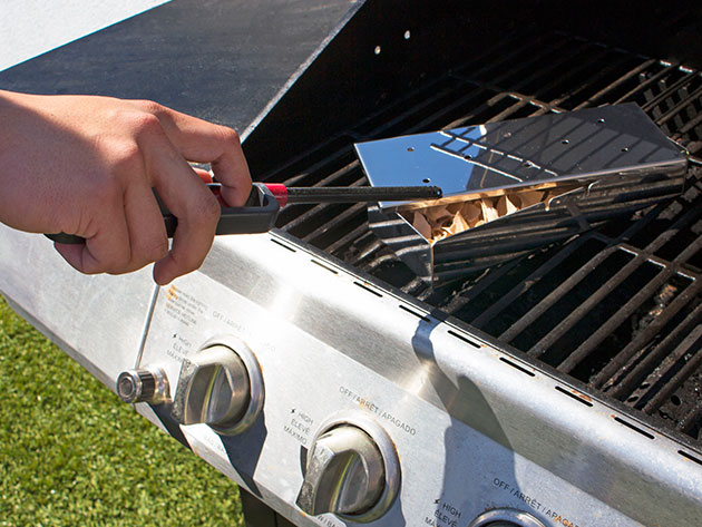 Infuse Your Barbecue with a Delicious Smoky Flavor with This Easy-to-Use Grill Add-On