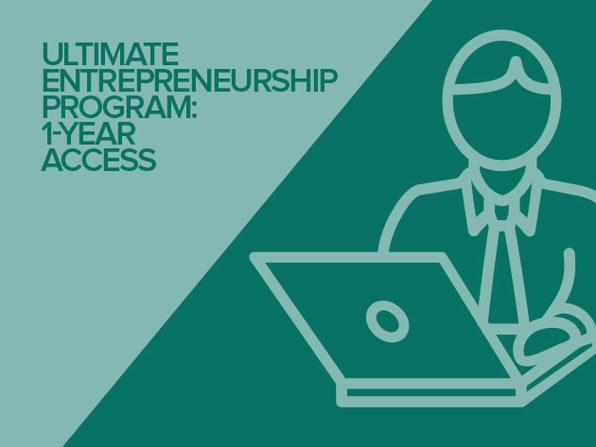 Ultimate Entrepreneurship Program: 1-Yr Access - Product Image