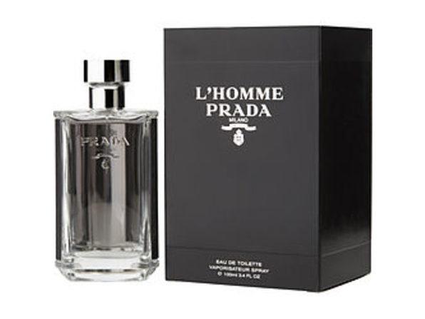 PRADA L'HOMME by Prada EDT SPRAY 3.4 OZ For MEN - Product Image