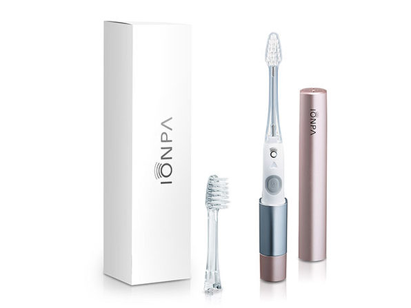 IONPA DM: Portable Ionic Electric Toothbrush (Pink Gold)