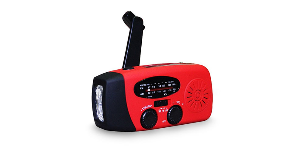 Emergency Multi-Function Radio & Flashlight, on sale for $23.19 when you use coupon code VIPSALE20 at checkout
