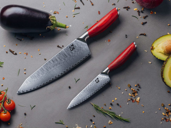 Pacific67 Essentials 2-Piece Knife Set