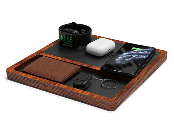 TRIO TRAY Wireless Charging Station