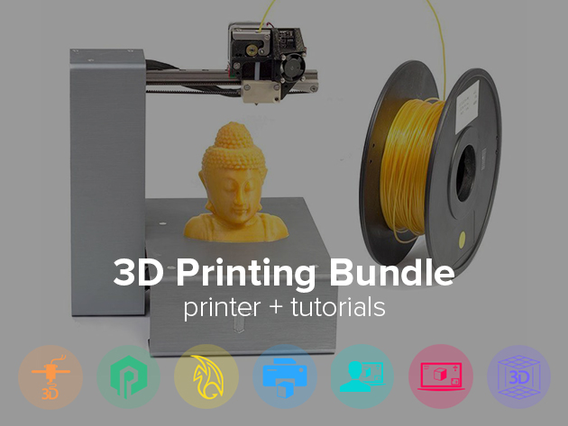 The 3d Printing Starter Bundle 3d Printer Included