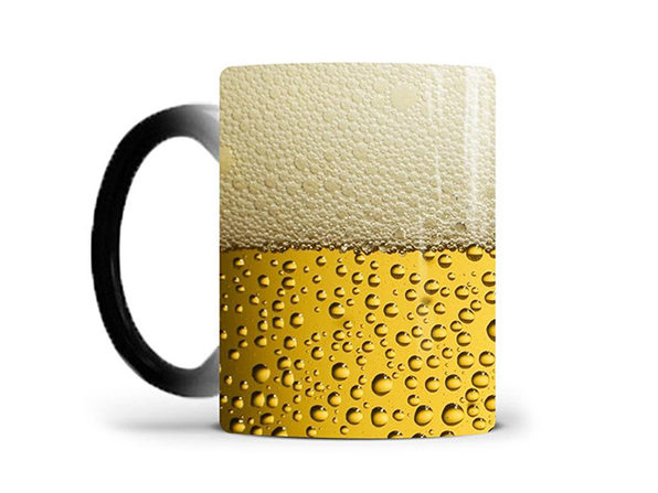 Heat Activated Color Changing Mug (Beer)