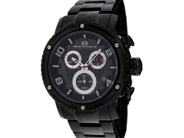 Oceanaut Men's Impulse Black Dial Watch - OC3124