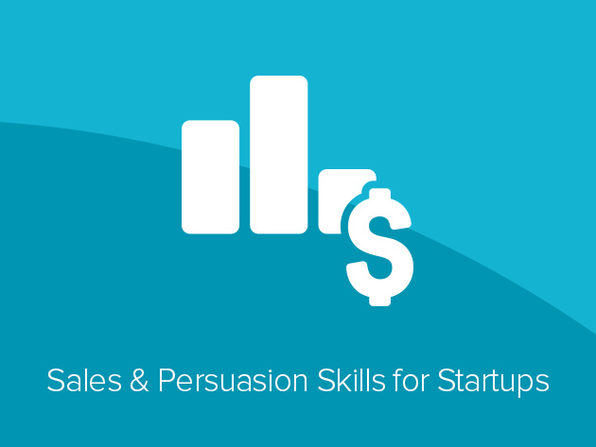 Sales & Persuasion Skills for Startups Course - Product Image