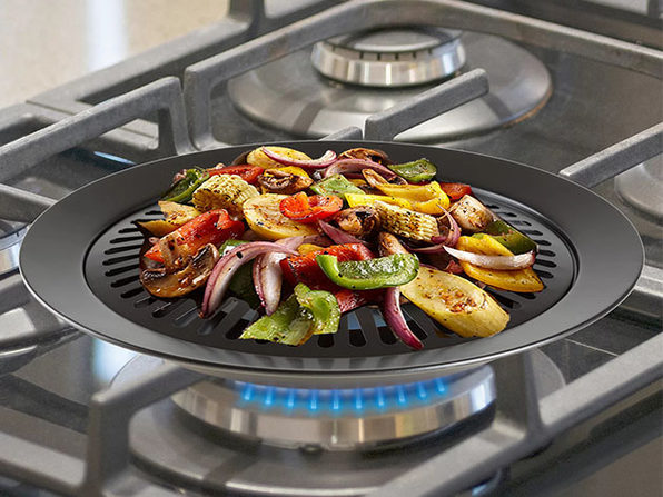 Smokeless Non-Stick Indoor/Outdoor Grill
