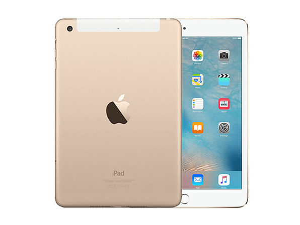 Apple iPad Mini 3 16GB - Gold (Wi-Fi + GSM/CDMA Unlocked)