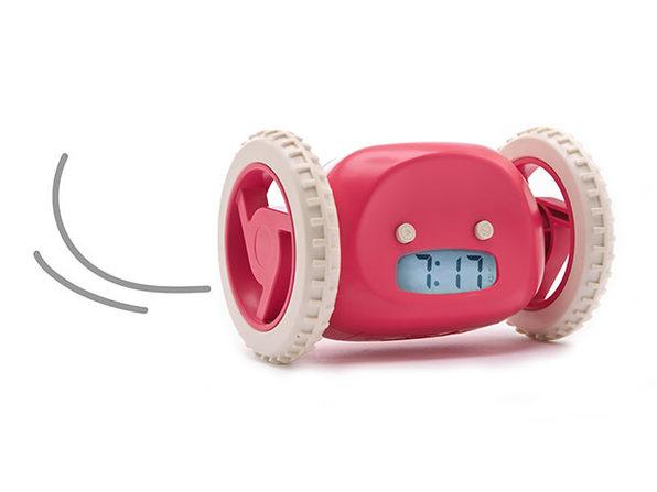 Clocky: The Runaway Alarm Clock (Raspberry)