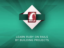 Learn Ruby on Rails by Building Projects - Product Image