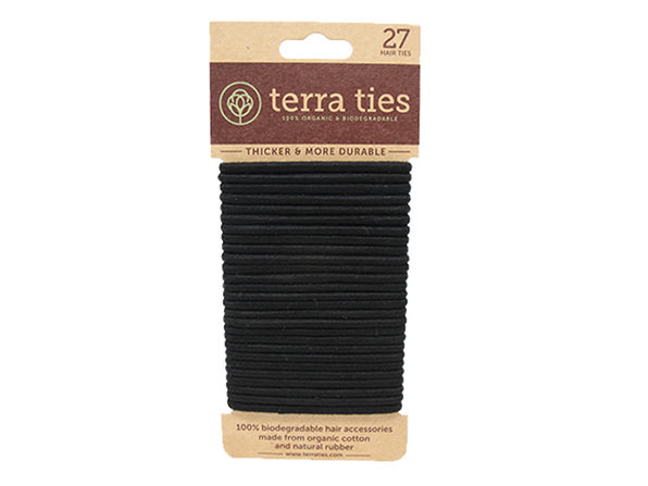 Terra Ties: 100% Organic & Biodegradable Hair Ties