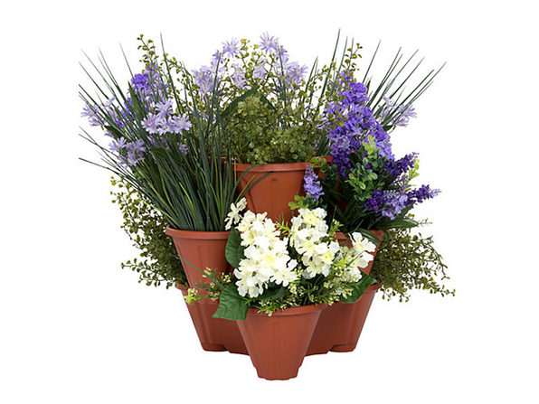 Pure Garden Stackable Planter: 3-Pack