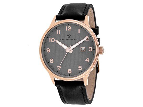 Christian Van Sant Men's Montero Grey Dial Watch - CV9810