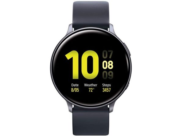 Samsung Galaxy Watch Active2 W/ Enhanced Sleep Tracking Analysis,GPS 44mm Black (Used, Open Retail Box)