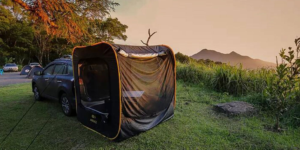 Extended Pop-Up Car Tent