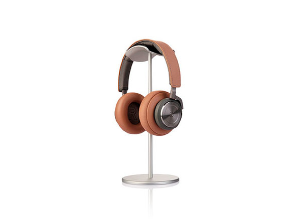 Jokitech Leather Aluminum Air Armor Headphone Stand (Silver)