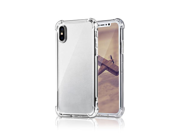 Clear TPU iPhone X Series Protective Case