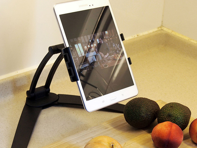 A tablet stand.