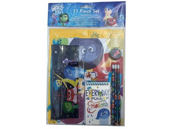 Inside Out 11 Piece Stationery Set - Product Image
