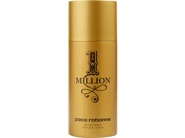 PACO RABANNE 1 MILLION by Paco Rabanne DEODORANT NATURAL SPRAY 5.1 OZ 100% Authentic - Product Image