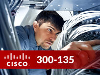 Cisco 300-135: TSHOOT - Troubleshooting And Maintaining Cisco IP Networks - Product Image