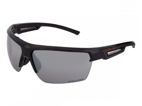 Rawlings 10218585.QTM Half-Rim Adult Sunglasses - Black/Silver - Black