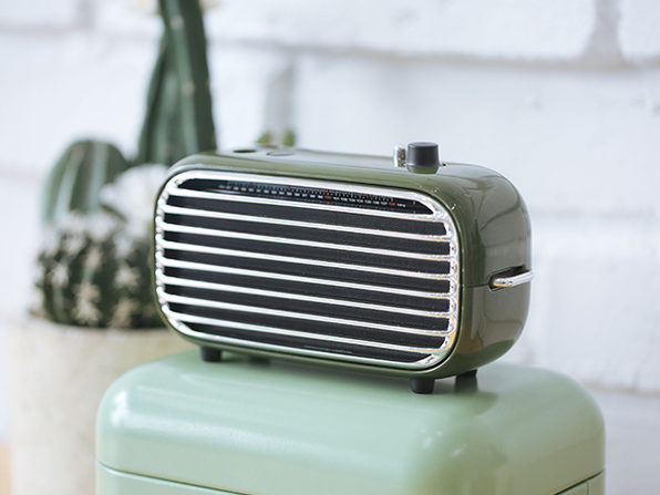 Lofree Poison: Nostalgic Powerful Wireless Speaker