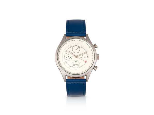 Elevon Lindbergh Watch (Blue/Silver)