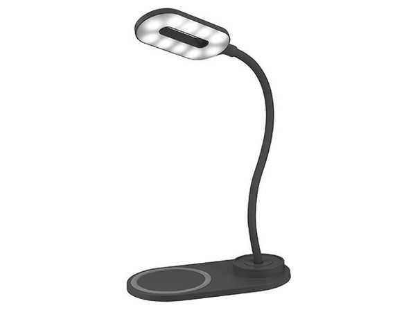 LED Lamp with Wireless Charging