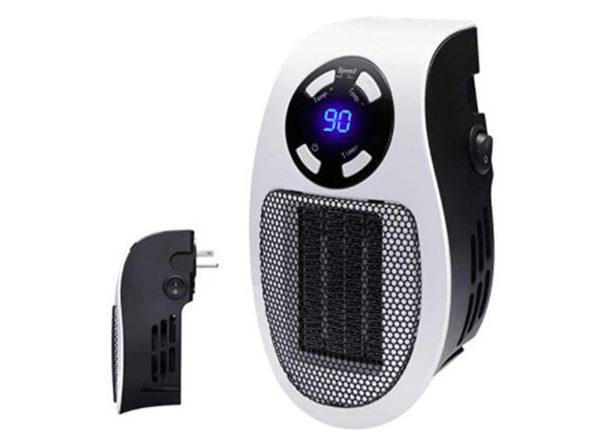 Plug N' Heat Personal Space Heater (4-Pack)