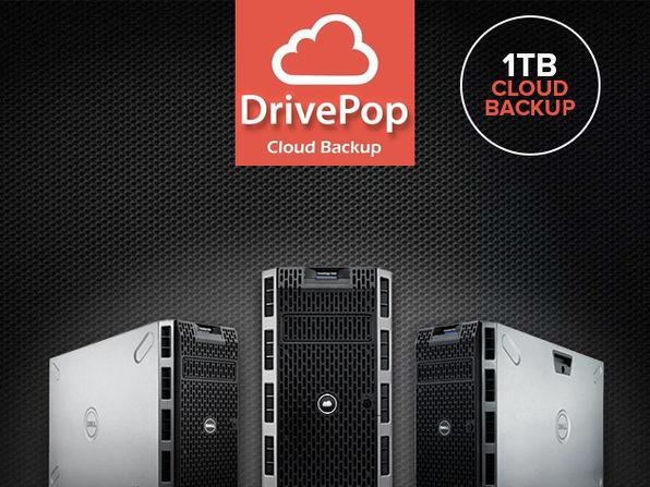 DrivePop Lifetime Plan - 1 TB of Cloud Backup - Product Image