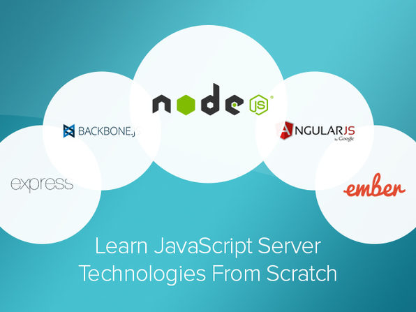 JavaScript Server Technologies from Scratch Course - Product Image