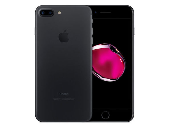 Refurbished iPhone 7 Plus Black GSM Unlocked 32GB - Fair Condition - Product Image