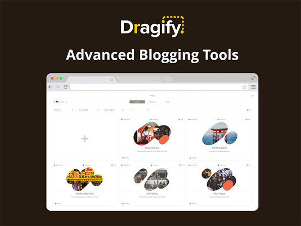 Dragify Website Builder: 1-Yr Subscription (Growth Plan)