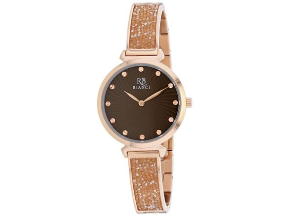 Roberto Bianci Women's Brillare Brown Dial Watch - RB0207