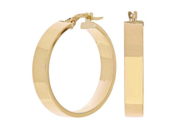 Christian Van Sant Italian 14k Yellow Gold Earrings - CVE9LSX - Product Image
