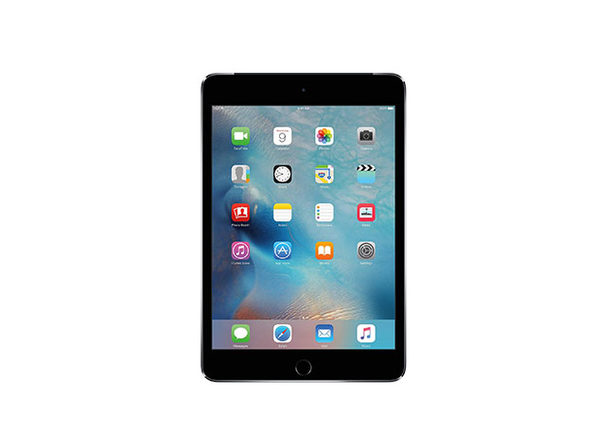Apple iPad mini 4 128GB - Space Grey (Certified Refurbished: Wi-Fi + Cellular)