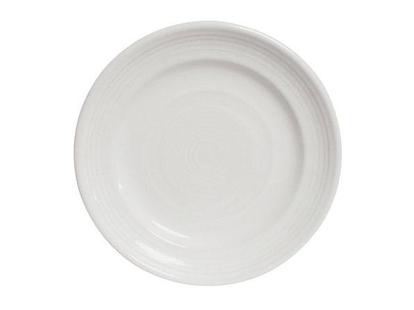 "Concentrix 10.5"" Round Dinner Plates: Set of 6 (White)"