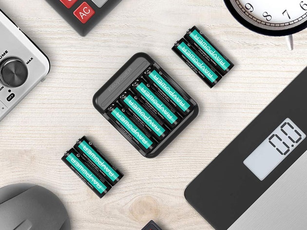 Tired of running out of batteries? These rechargeable batteries have you covered