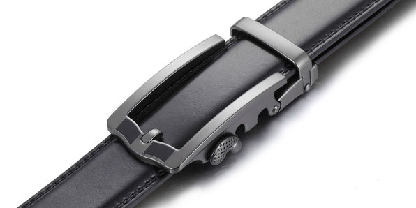 Business Classic Ratchet Belt – Black