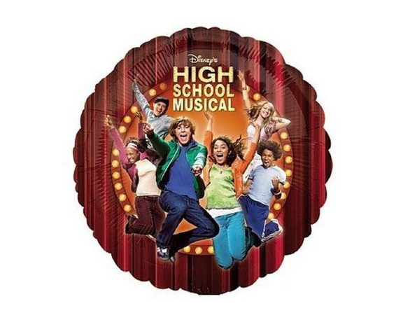 Balloons - High School Musical - Helium - 18 Inch - Maroon