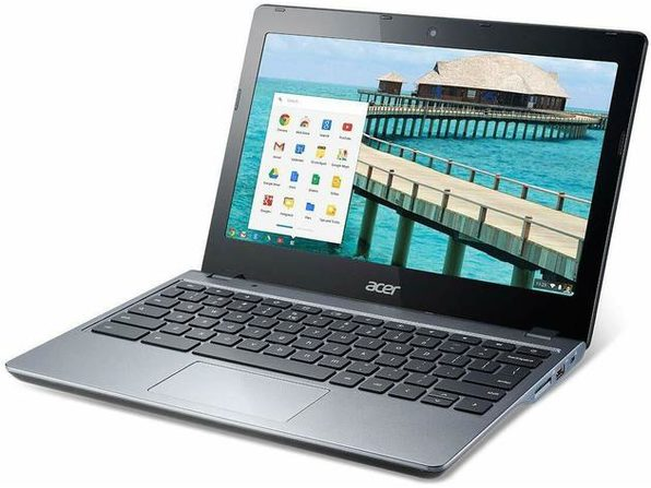 "Acer C720-2844 11"" Chromebook , 1.4GHz Intel Celeron, 4GB RAM, 16GB SSD, Chrome (Grade B)"
