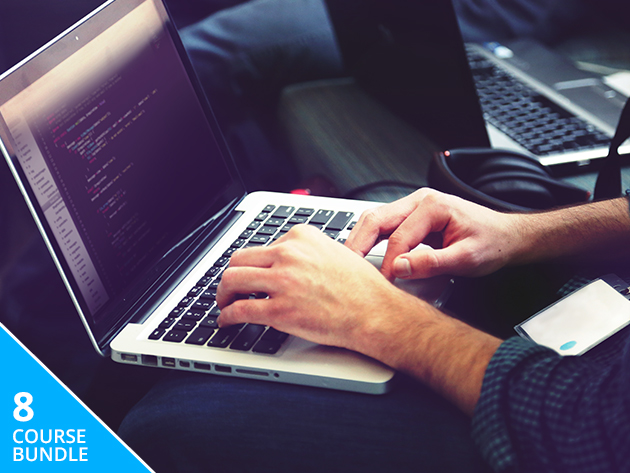 Code Your Way to a Higher Paycheck -- 8 Courses and 74+ Hours of Training for 94% Off!