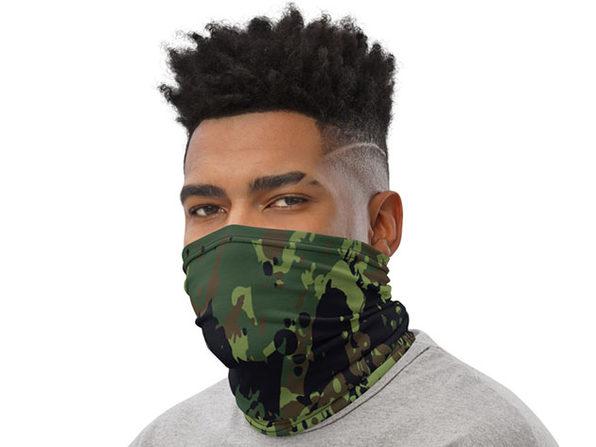 Reusable Cool Face Cover / Neck Gaiter (Original Camo)