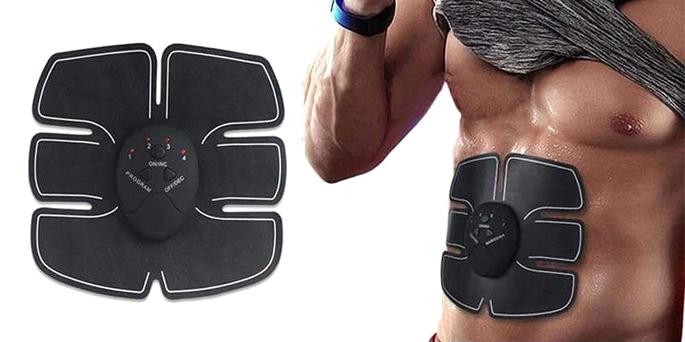EMS 6-Pack Abs Stimulator, on sale for $15.99 when you use coupon code GREEN20 at checkout