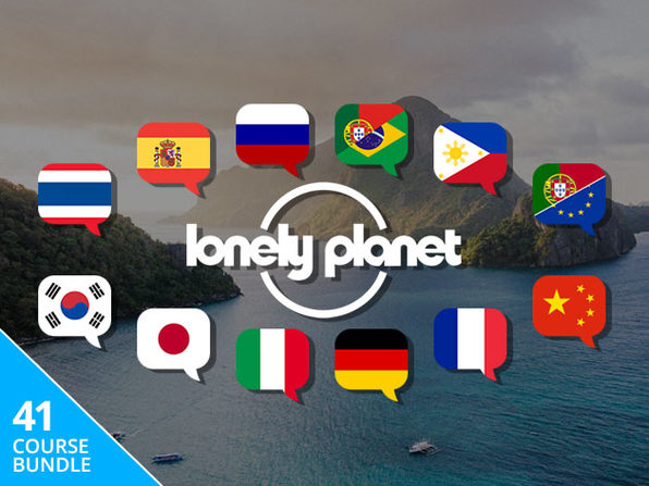 Pay What You Want: Travel Guide Bundle Ft. Lonely Planet & Transparent Language