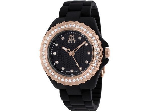 Jivago Women's Cherie Black Dial Watch - JV8212